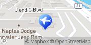 Map Enterprise Rent-A-Car Naples, United States