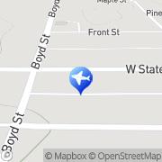 Map Chase Insurance Agency Fife Lake, United States
