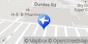 Map Enterprise Rent-A-Car Cypress, United States