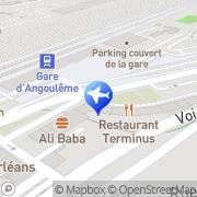 Carte de Le Terminus Angoulême, France