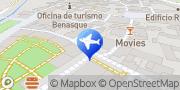 Map Apartamentos Petronilla Benasque, Spain