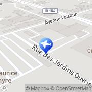 Carte de Régis Location Dieppe, France
