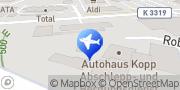 Karte Kopp Ruth Autovermietung Westhausen, Deutschland