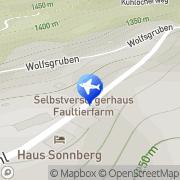 Karte Faultierfarm Kappl, Österreich