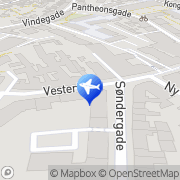 Kort K.B. Rejse Center Odense, Danmark