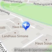 Karte Haus Raffner Seefeld in Tirol, Österreich