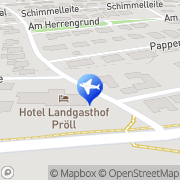 Karte Hotel-Restaurant Haselberg Landershofen, Deutschland