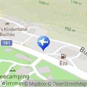 Karte Jugendherberge am Achensee Eben am Achensee, Österreich
