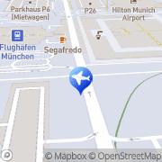 Karte Checkpoint Reisen GmbH München, Deutschland