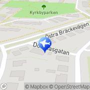 Karta Vitklövern Taxi Göteborg, Sverige