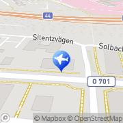 Karta Leslie Forsberg Taxi AB Uddevalla, Sverige