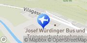 Karte Josef Würdinger e.K. Bus- und Transportunternehmen Kallmünz, Deutschland