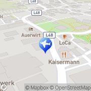Karte Posthof Kundl, Österreich