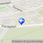 Karta Kerstin Perssons Taxi Kungälv, Sverige