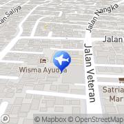 Map Sandholiday Bali Denpasar, Indonesia