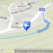 Karte Hochstaffl Thomas Gerlos, Österreich