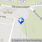 Karta Move it Kassaskåpsflyttarna AB Agnesberg, Sverige