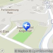 Karte Jugendhotel Angerhof Wildschönau, Österreich