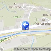 Karte Gästehaus Königsleiten - Familie Geisler Gerlos, Österreich