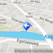 Karte Kiefersfeldener Reiseservice GbR Kiefersfelden, Deutschland