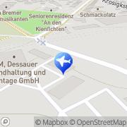 Karte Taxi Dessau GmbH Dessau-Roßlau, Deutschland
