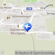 Karte Gattererhof Going, Österreich