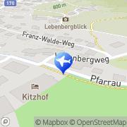 Karte Pension Alpenrose Kitzbühel, Österreich