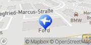 Karte Sixt Autovermietung Waren (Müritz), Deutschland