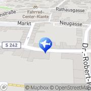 Karte Reisebüro City Burgstädt, Deutschland