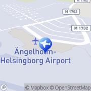 Karta Europcar Ängelholm Flygplats Ängelholm, Sverige