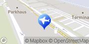 Karte Mietwagen Salzburg Flughafen - Interrent Salzburg, Österreich