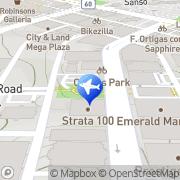 Map Zac Travels Pasig, Philippines