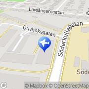 Karta Milles Cab Malmö, Sverige