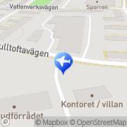 Karta Busspiloten AB Malmö, Sverige