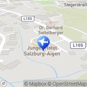 Karte Jugendherberge Salzburg Aigen Salzburg, Österreich