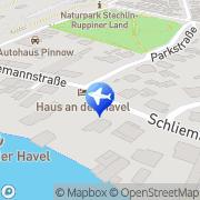 Karte Der Fürstenberger Taxi - & Mietwagenbetrieb Fürstenberg/Havel, Deutschland