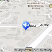 Map IBT Chauffeur Service Berlin, Germany