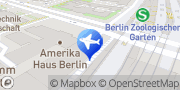 Karte Enterprise Rent-A-Car Berlin, Deutschland