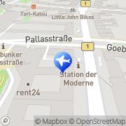 Karte rent24 Coliving Berlin-Schöneberg Berlin, Deutschland