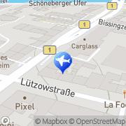 Karte Hotel Am Potsdamer Platz Berlin, Deutschland