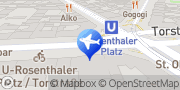 Map Talixo - Taxis und Limousinen Berlin, Germany