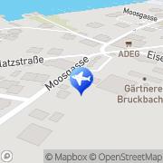 Karte Kasberger Frühstückspension Strobl, Österreich