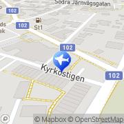 Karta Taxi JV Veberöd Veberöd, Sverige