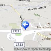 Karte Abelhof - Pension Stocker Schladming, Österreich