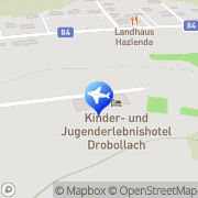 Karte Kinder- u Jugenderlebnishotel Drobollach am Faakersee, Österreich