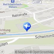 Karte Haus Kantnermühle Bad Schallerbach, Österreich