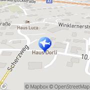 Karte Haus Dorli Pörtschach am Wörthersee, Österreich
