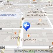Karte HITREISE GmbH Klagenfurt, Österreich