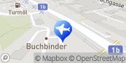 Karte Mietwagen Linz - Interrent Linz, Österreich