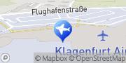 Karte Car Hire in Klagenfurt Airport - InterRent Klagenfurt, Österreich